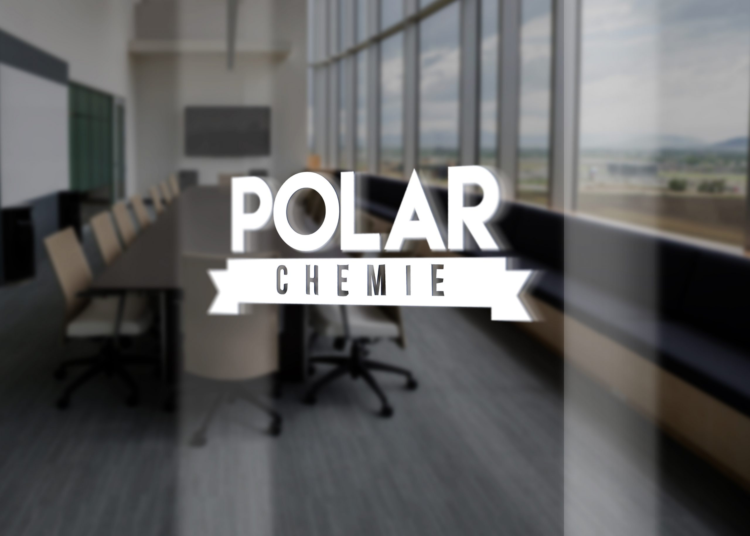 Polar Chemie Glass Door